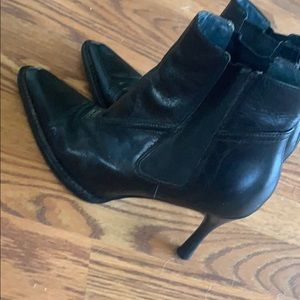 BCBGMaxAzria Shoes - BCBG Pointy toed black booties size 6